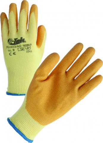 COTTON / POLYESTER / LATEX GLOVES
