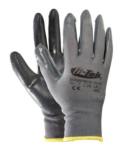 NYLON / NITRILE GLOVES