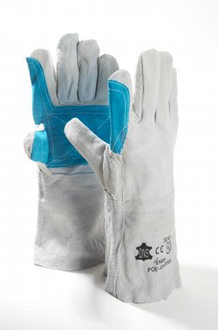 WELDER'S GLOVES WITH REINFORCED PALM