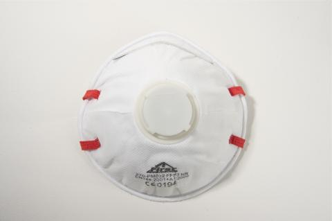 "PROTECTION MASK FFP3 ""FIRST"" WITH EXHALATION VALVE"